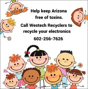 Residential electronics and computer recycling service