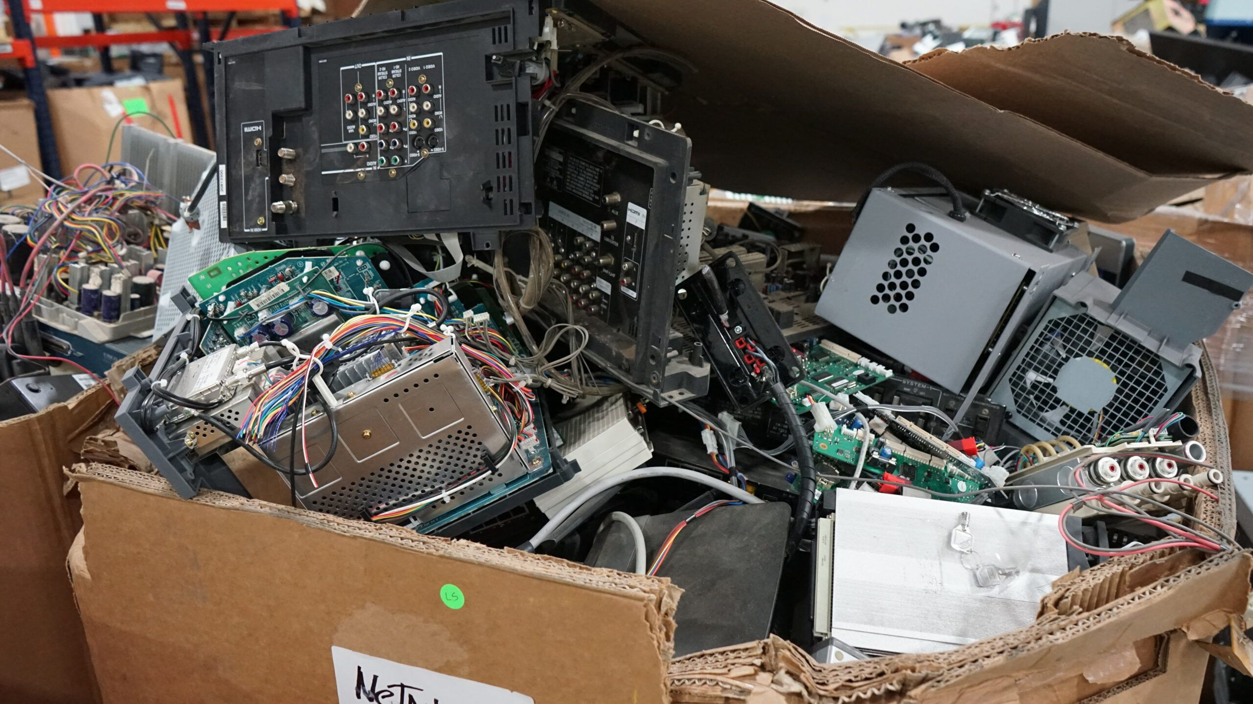 What Do We Do With Your Electronics?